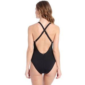 Lole Swim - Lolë 'Madeirella' black one piece swimsuit
